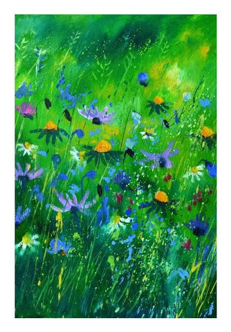 PosterGully Specials, wild flowers 457170 Wall Art | Artist : pol ledent, - PosterGully
