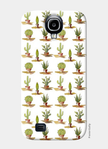 Samsung S4 Cases, Cute Cactus Plants Pattern Samsung S4 Cases | Artist : Seema Hooda, - PosterGully