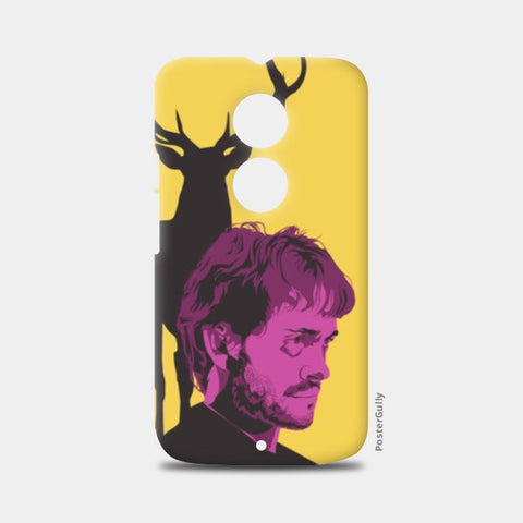 Moto X2 Cases, Hannibal TV Show yellow purple gray Moto X2 case | Aniket Trivedi, - PosterGully