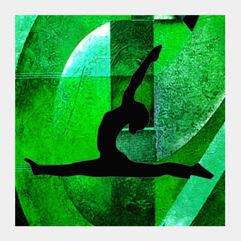 Yoga Everyday Square Art Prints PosterGully Specials