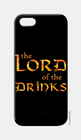 Lord of the Drinks iPhone 5 Cases | Artist : Shweta Paryani