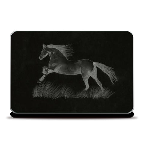 Black Beauty Laptop Skins | Artist : Saswata Das