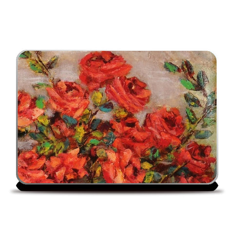 Laptop Skins, red roses Laptop Skins | Artist : Raji Chacko classic paintings, - PosterGully