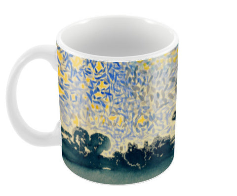 Landscape with Stars by Henri-Edmond Cross Coffee Mugs | Artist : Aditya Gupta