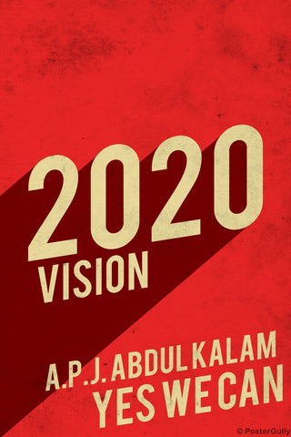 Wall Art, 2020 Vision Kalam India, - PosterGully