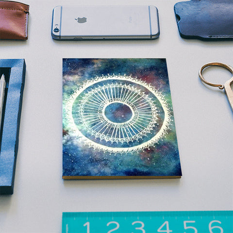 Galaxy Mandala Notebook | Artist : Sukanya Chakraborty