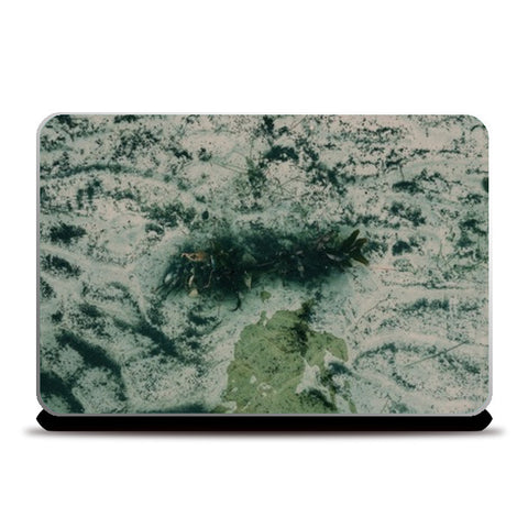 Sea Art Vintage Laptop Skins | Artist : nandita sharma