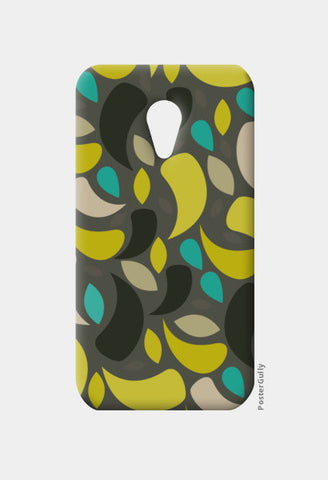 Seamless leaf geometric shapes Moto G2 Cases | Artist : Designerchennai