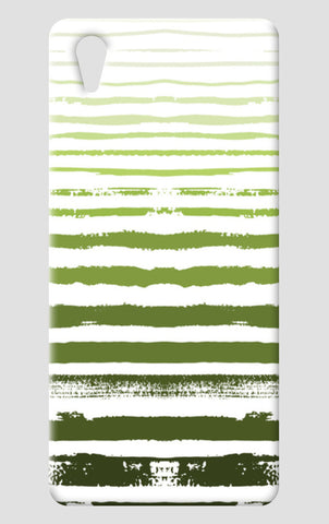 Uneven Green Stripes One Plus X Cases | Artist : Amantrika Saraogi