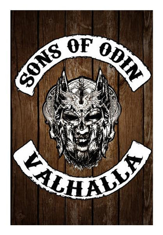 PosterGully Specials, Sons of Odin Wall Art | Artist : Vaishak Seraphim, - PosterGully