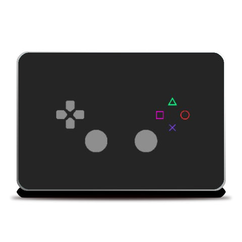 Laptop Skins, Playstation Controller Laptop Skin | Artist: Vibhu Agrawal, - PosterGully