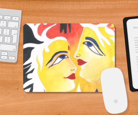 Mousepad, Symbol Of Peace Art Mousepad | Artist : Teena Chauhan, - PosterGully
