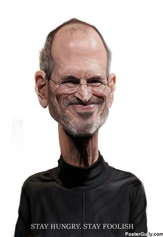 Brand New Designs, Steve Jobs #2 Artwork | Artist: Sri Priyatham, - PosterGully - 1