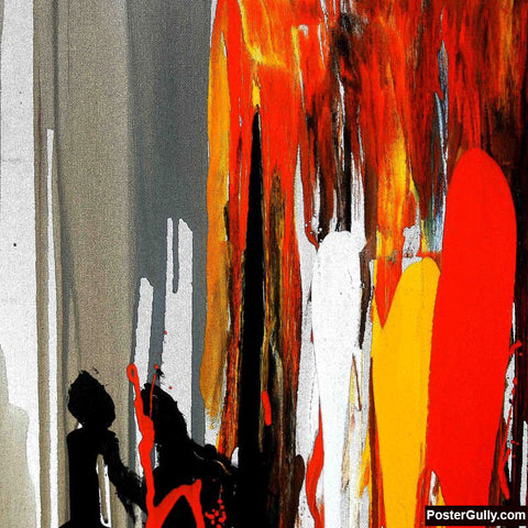 Brand New Designs, Abstract Painting #10 Artwork | Artist: Prakash Raman, - PosterGully