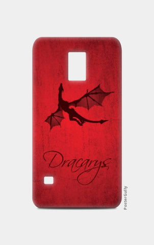 Samsung S5 Cases, Dracarys Game of Thrones | Artist: Kshitija Tagde, - PosterGully
