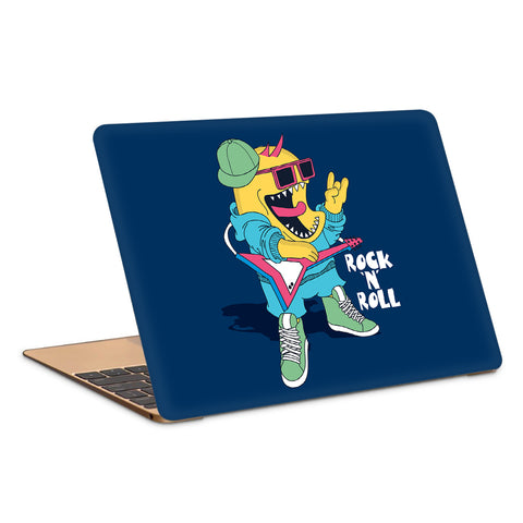 Rock And Roll Pop Art Laptop Skin