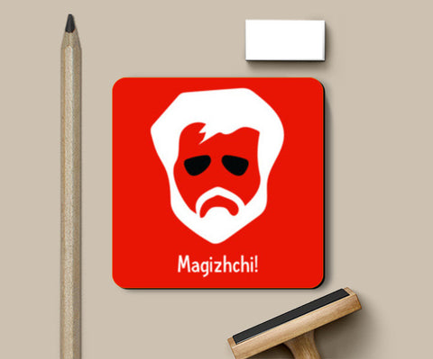 Kabali - Superstar (Red) Coasters | Artist : Kaagidham