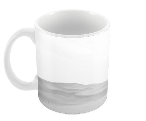 White Desert Coffee Mugs | Artist : Sourav Chakraborty