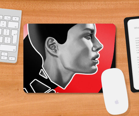 Fracture Mousepad | Artist : Sidharth Ojha