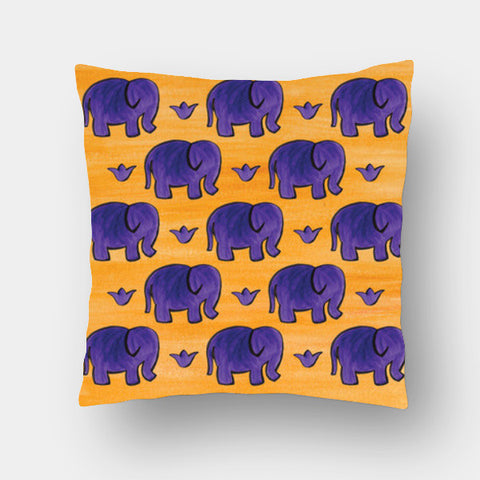 Cushion Covers, Elephants I Cushion Covers | Artist : Anuja Katti, - PosterGully
