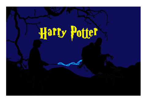 Harry Potter Deatheater Duel  Wall Art  | Artist : Nalin Singh