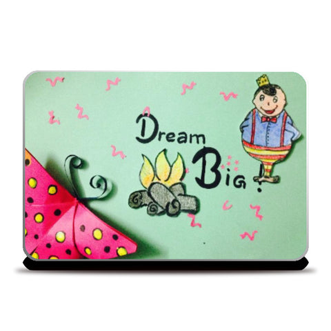 Laptop Skins, Dream big Laptop Skin | Doodleicious, - PosterGully