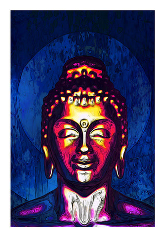 Wall Art, buddha Wall Art | Artist : abhijeet sinha, - PosterGully