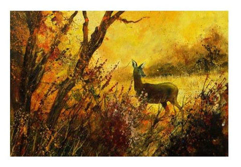 PosterGully Specials, a hind Wall Art  | Artist : pol ledent, - PosterGully