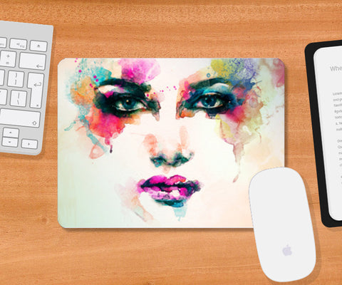 art is fashion Mousepad | Artist : Fariya Arts