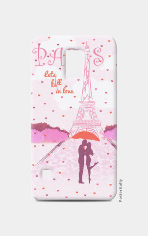Paris-Fall in Love Samsung S5 Cases | Artist : Abhishek Kanungo