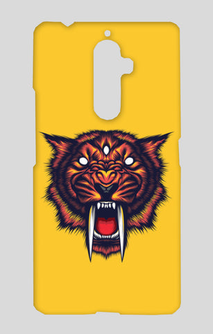Saber Tooth Lenovo K8 Note Cases | Artist : Inderpreet Singh
