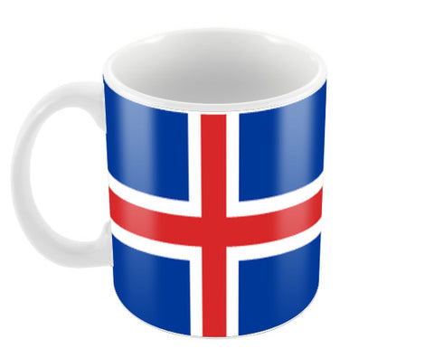 Iceland | #Footballfan Coffee Mugs | Artist : Creative DJ