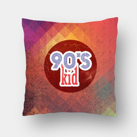 Cushion Covers, 90s kid Cushion Cover | Artist: Abhishek Faujdar, - PosterGully