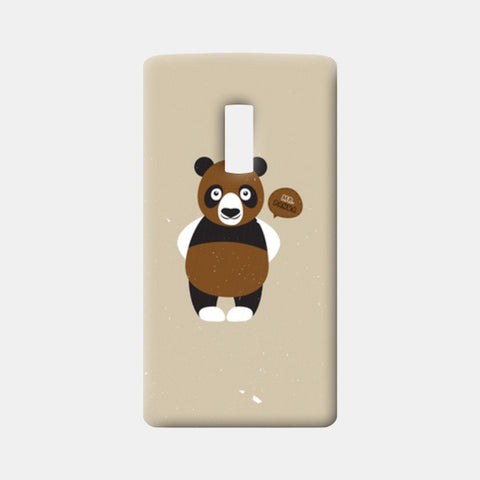 Mr.Panda One Plus Two Cases | Artist : Designerchennai