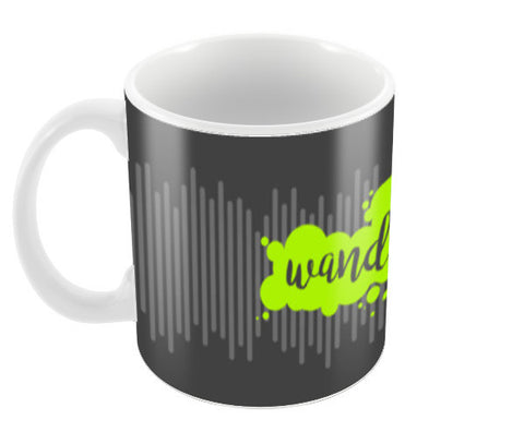 Wanderlust (Green) Coffee Mugs | Artist : Ved Uttam