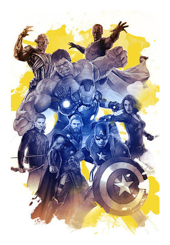 Wall Art, Avengers - Marvel Universe Wall Art | Cuboidesign, - PosterGully