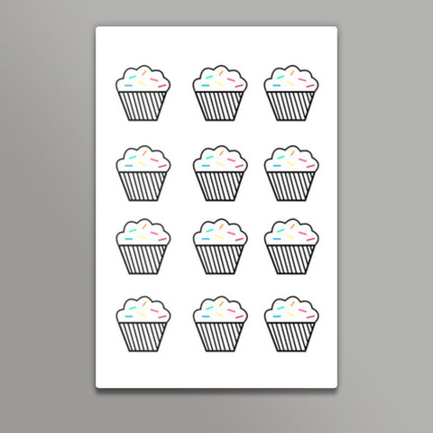 Hey there cupcake Metal Prints | Artist : mytablecreations