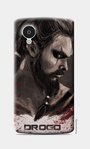 Nexus 5 Cases, Khal Drogo Game Of Thrones Nexus 5 Case | Artist: Parikshit Deshmukh, - PosterGully