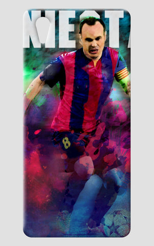 iniesta in colour One Plus X Cases | Artist : ASHUTOSH RAI