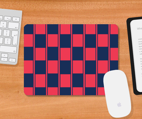 Mousepad, Checker Box Pattern Mousepad | Artist : Jobin Jacob, - PosterGully