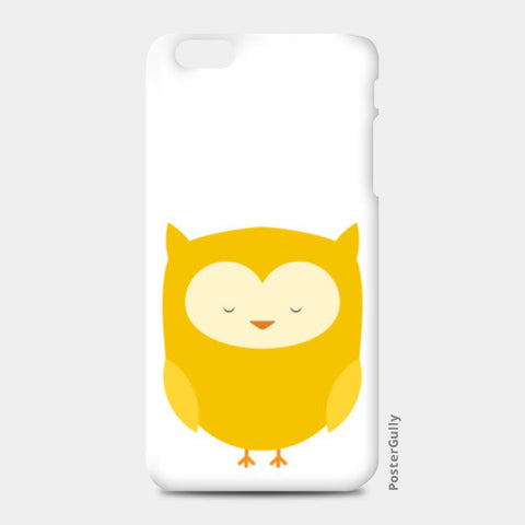 Cute Yellow Owl iPhone 6 Plus/6S Plus Cases | Artist : Designerchennai