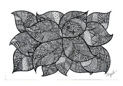 PosterGully Specials, Leafy Tangles Wall Art | Artist : Eggoticons | PosterGully Specials, - PosterGully