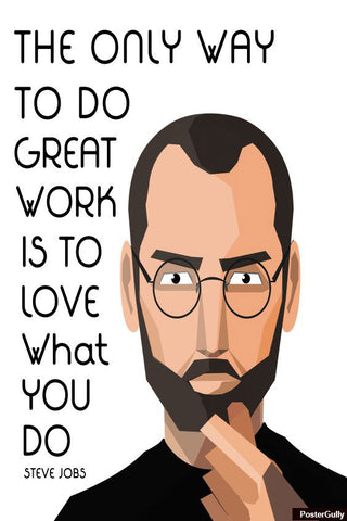 Brand New Designs, Steve Jobs Quote Artwork | Artist: Pratik Doshi, - PosterGully - 1