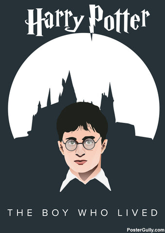 Wall Art, Harry Potter Poster Artwork | Artist: Siladityaa Sharma, - PosterGully - 1