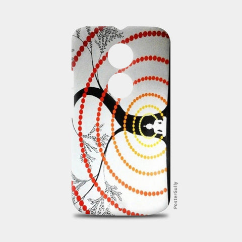 Waves of Peace Moto X2 Cases | Artist : Chandramouli Sivanandham