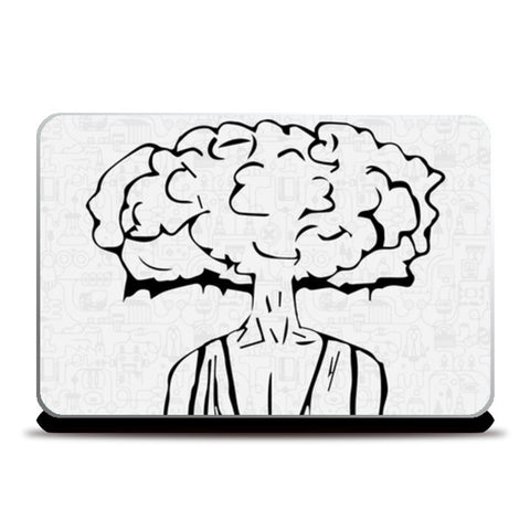 Laptop Skins, Cloud of Thoughts  Laptop Skins | Artist : Pulkit Taneja, - PosterGully