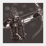 Square Art Prints, bahubali Square Art Prints | Artist : chaitanya kumar, - PosterGully