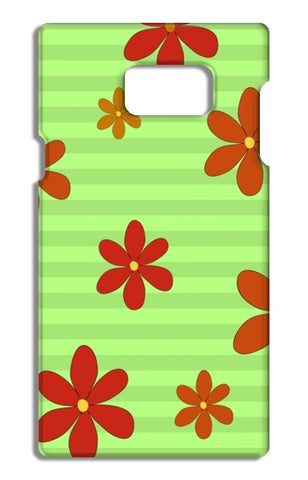 Flowers Samsung Galaxy Note 5 Tough Cases | Artist : Pallavi Rawal