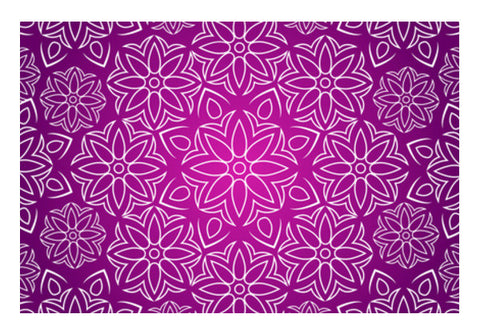 Abstract Flowers Wall Art  | Artist : Madhumita Mukherjee