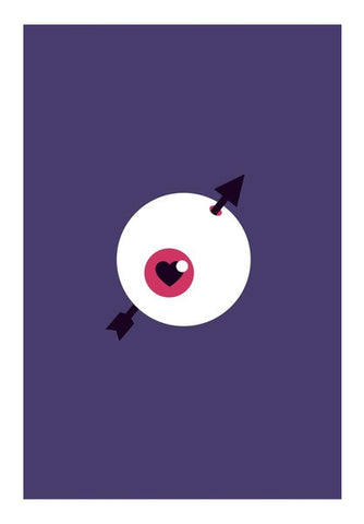 Lover Eye Ball  Art PosterGully Specials